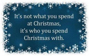 Christmas-It's who you spend it with